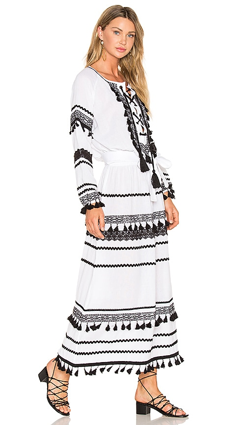 Dodo Bar Or Malka Maxi Dress in White