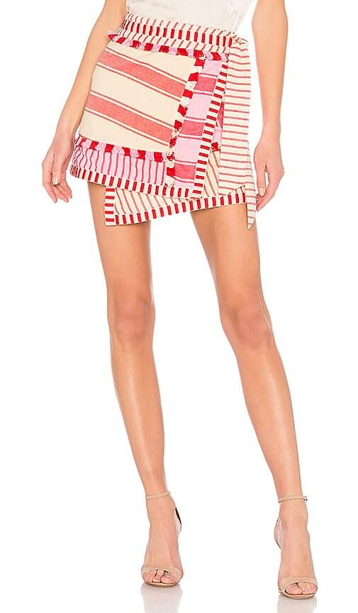 Dodo Bar Or Hoze Skirt in Cream