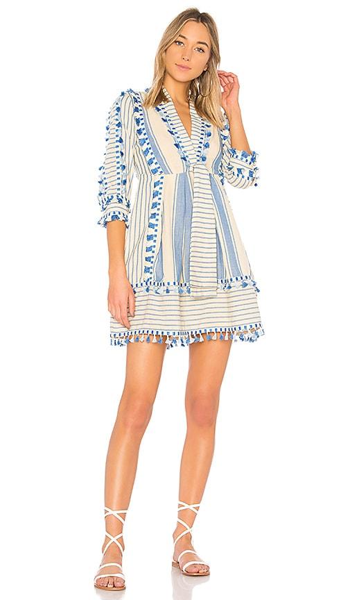 Dodo Bar Or Skyler Mini Dress in Blue