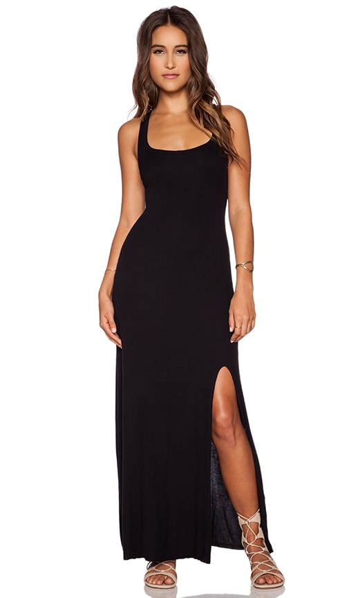 Tank Maxi Dress With Front Slit