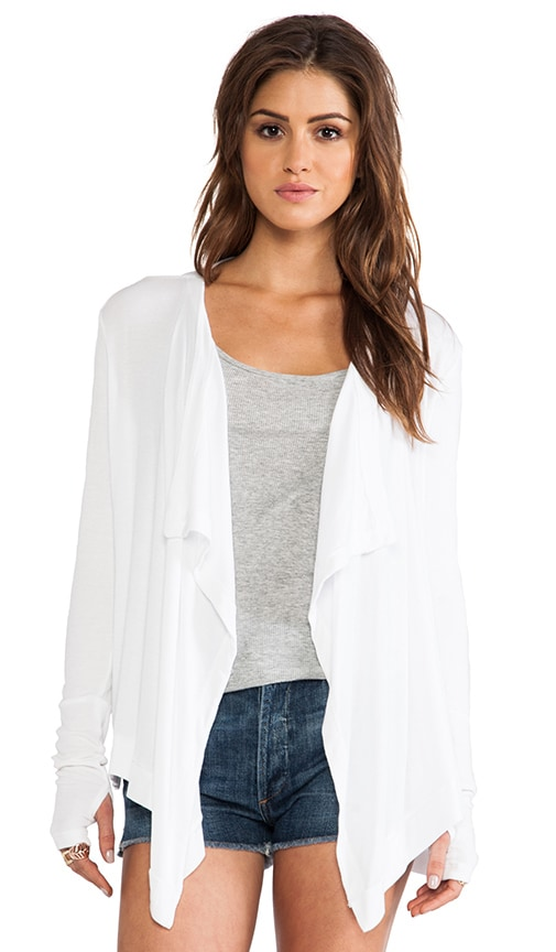 Drape Neck Cardigan