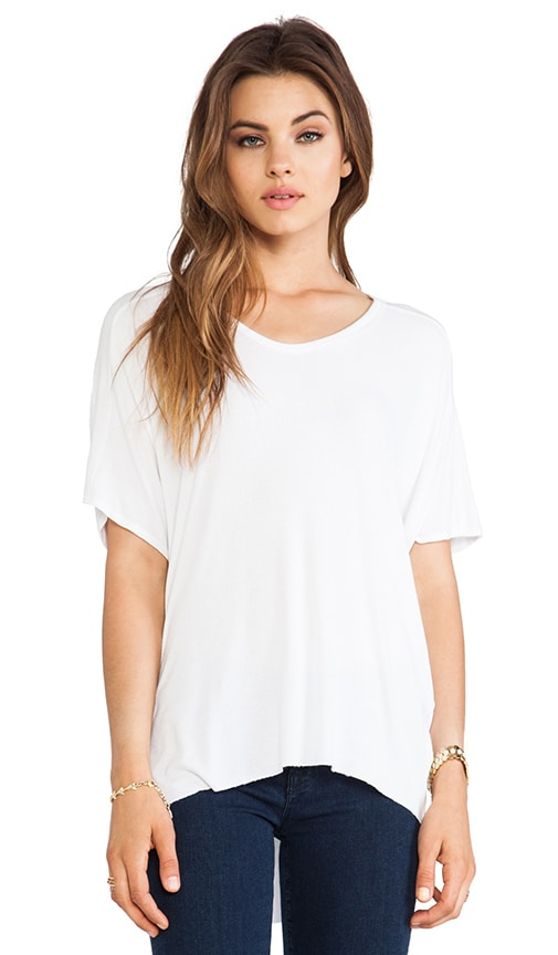Short Sleeve High Low Tee