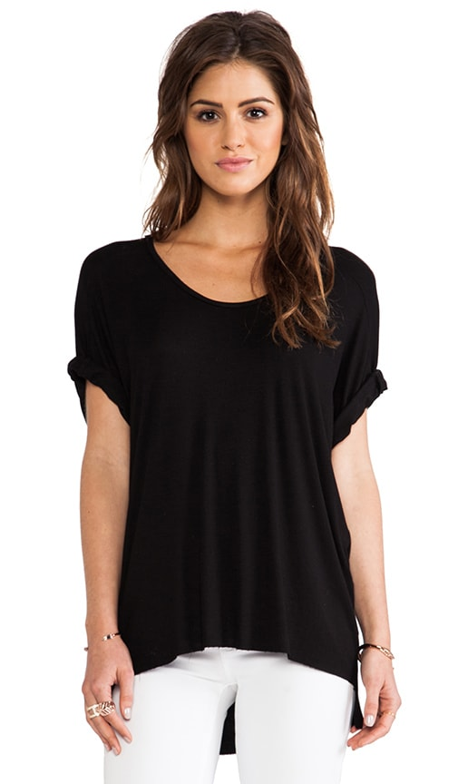 Dolman Sleeve High Low Tee