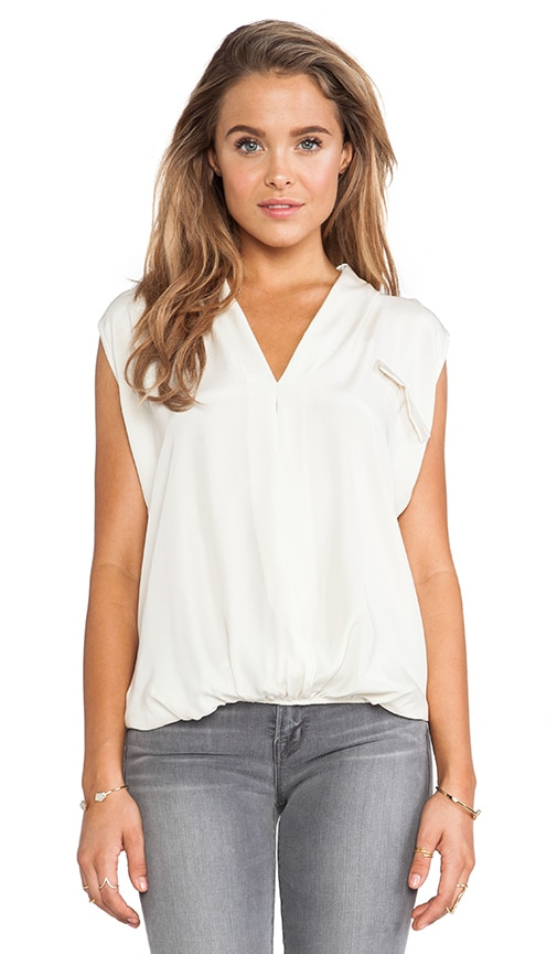 Sleeveless Cross Front Top