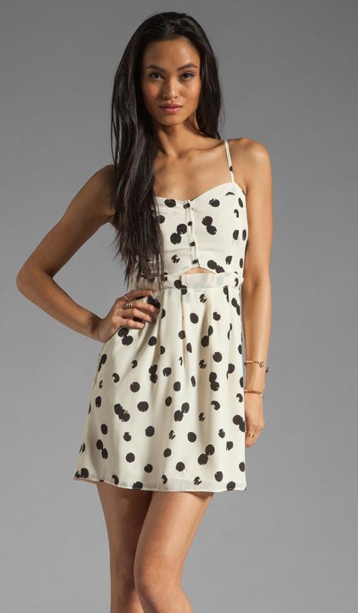 Adisa Drip Dot Tank Dress