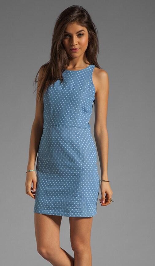 Estefania Denim Star Tank Dress