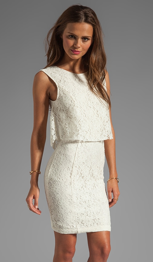 Glaudusa Raised Lace Tank Dress