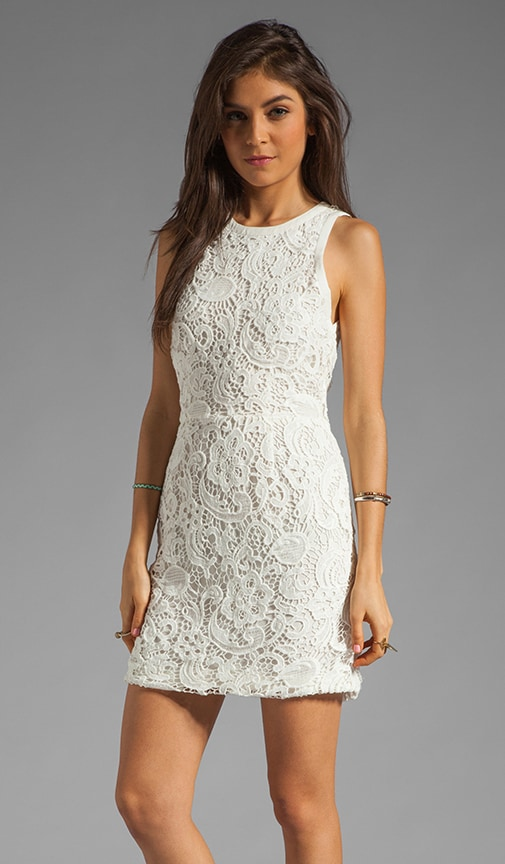 Mei Scroll Lace Dress