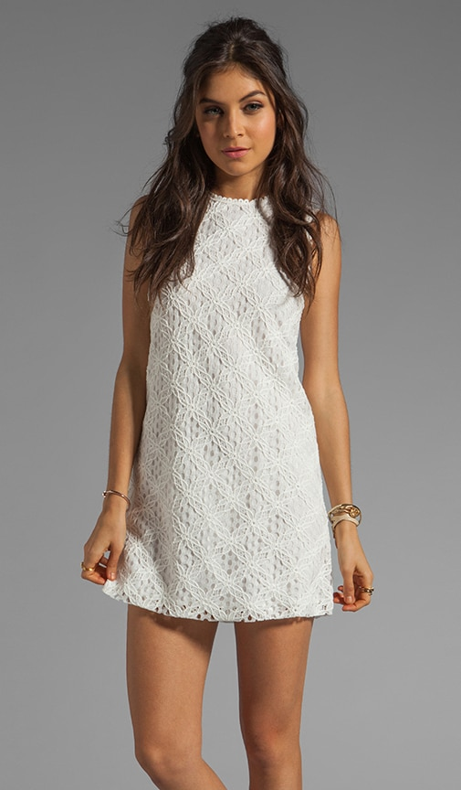 Olie Crochet Lace Tank Dress