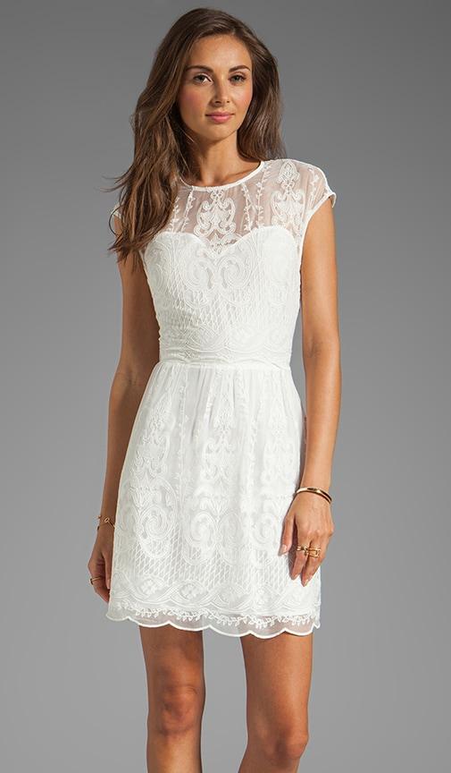 Kloey Silk Embroidery Dress