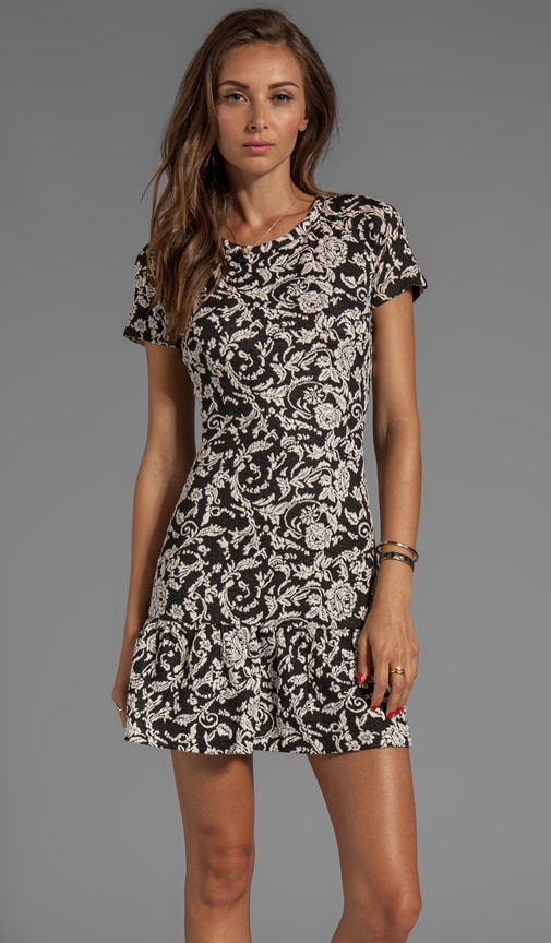 Alextra Scroll Ponte Dress