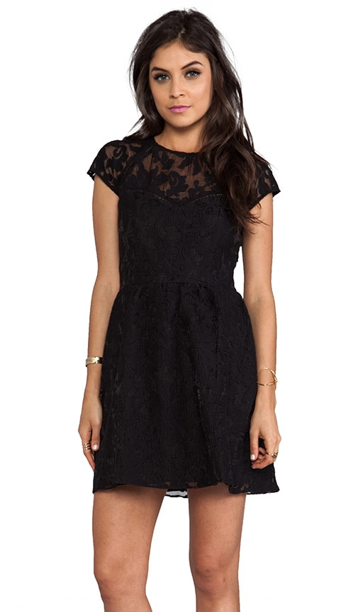 Winsor Organza Lace Dress