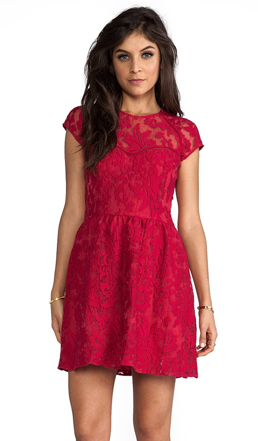 Winsor Organza Lace Dress