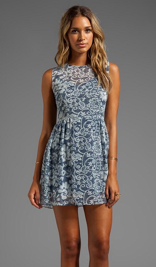 Eniko Lace Print Dress