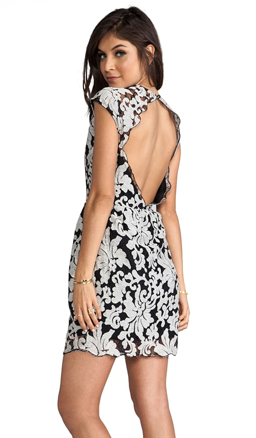 Verie Embroidery Lace Dress