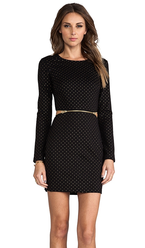 Bing Gold Dots Dress