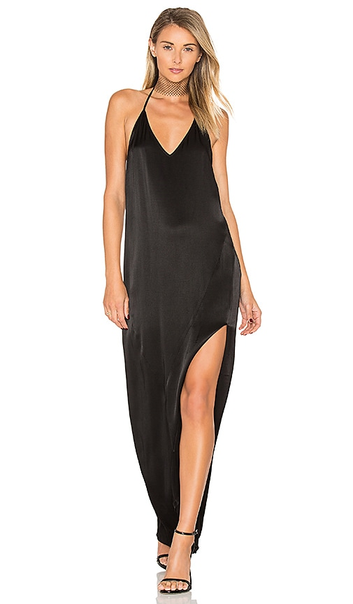 Dolce Vita Adrienne Maxi Dress in Black
