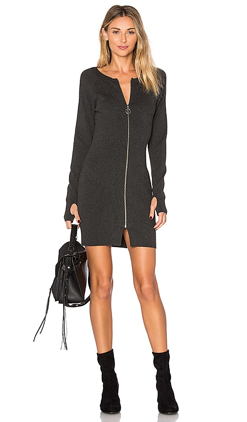 Dolce Vita Jodi Knit Dress in Charcoal