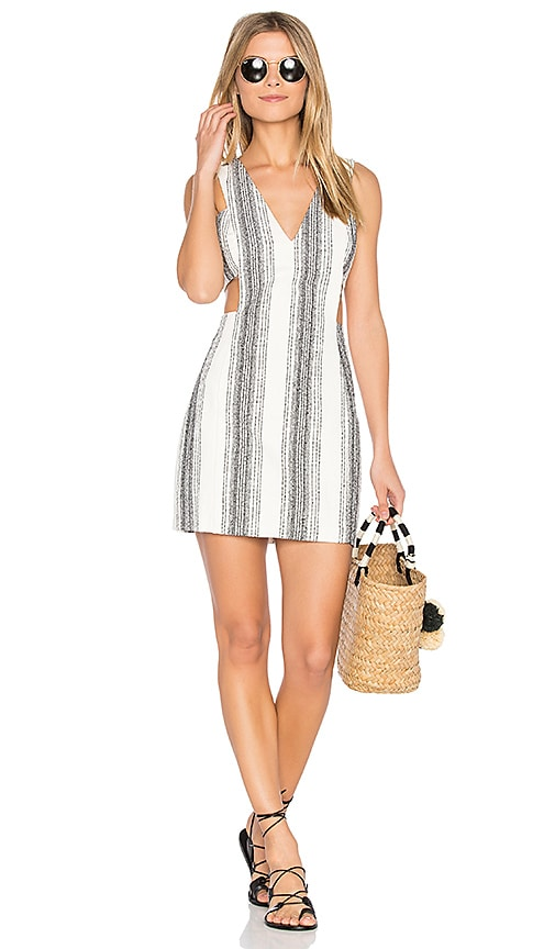 Dolce Vita Xenia Tweed Dress in White