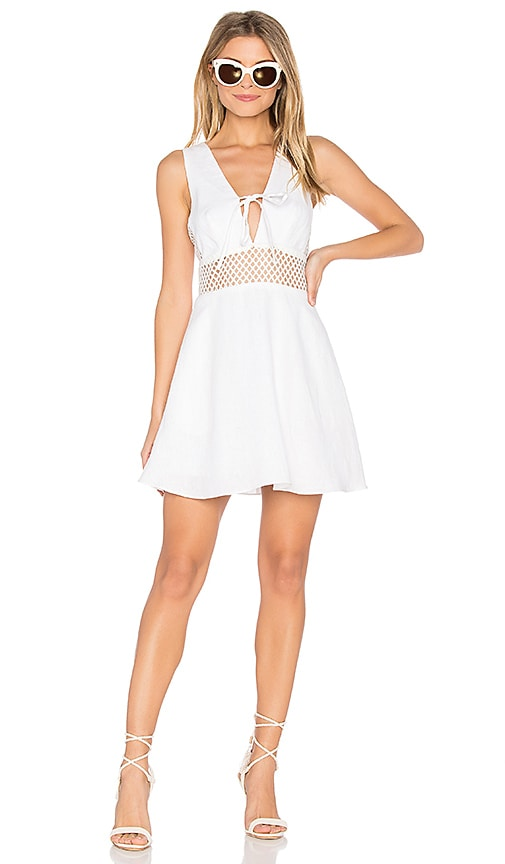 Dolce Vita Talia Dress in White