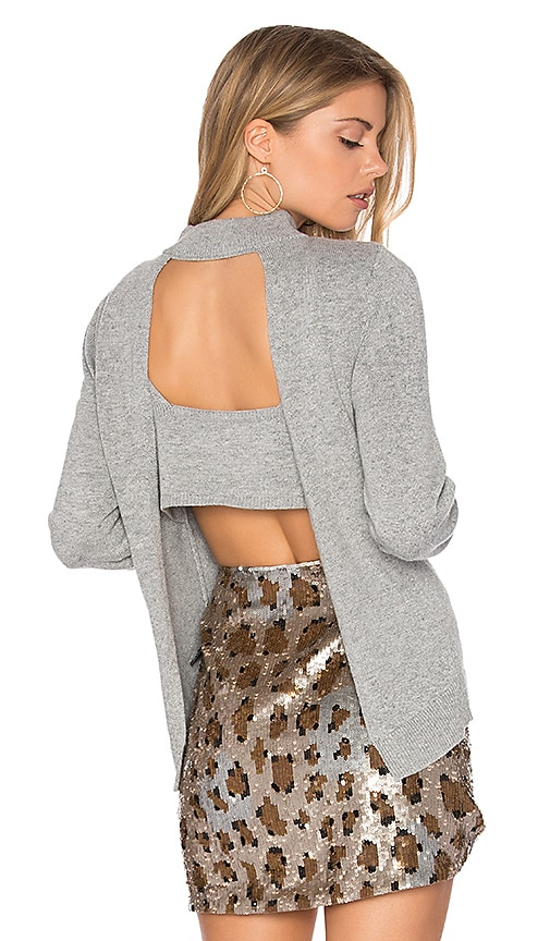 Dolce Vita Billie Sweater in Gray
