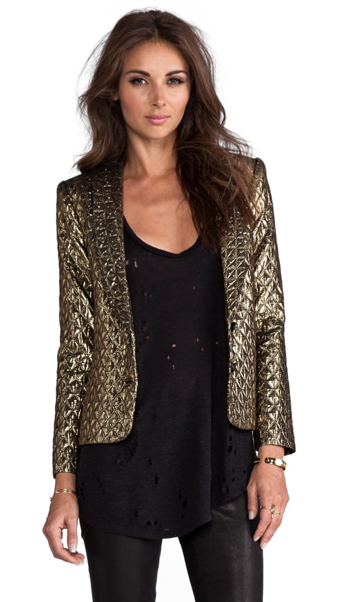 Ashna Metallic Tiles Blazer