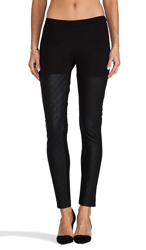 Monsoon Faux Leather Legging