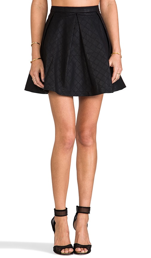 Marin Faux Leather Skirt