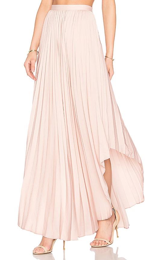 Dolce Vita Camryn Maxi Skirt in Blush