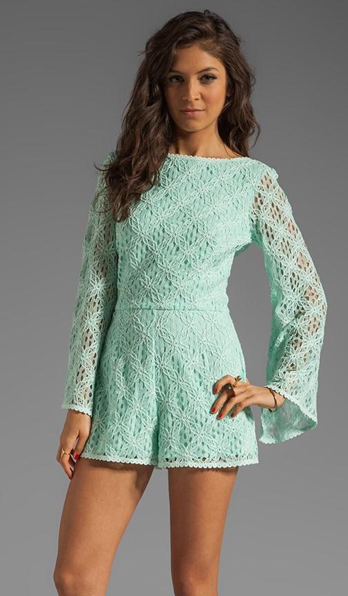 Seni Crochet Lace Romper