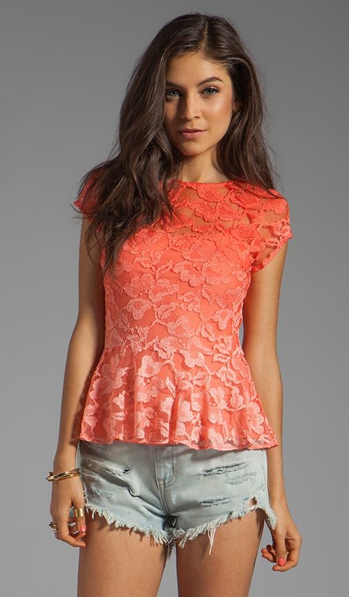 Becka Stretch Lace Top