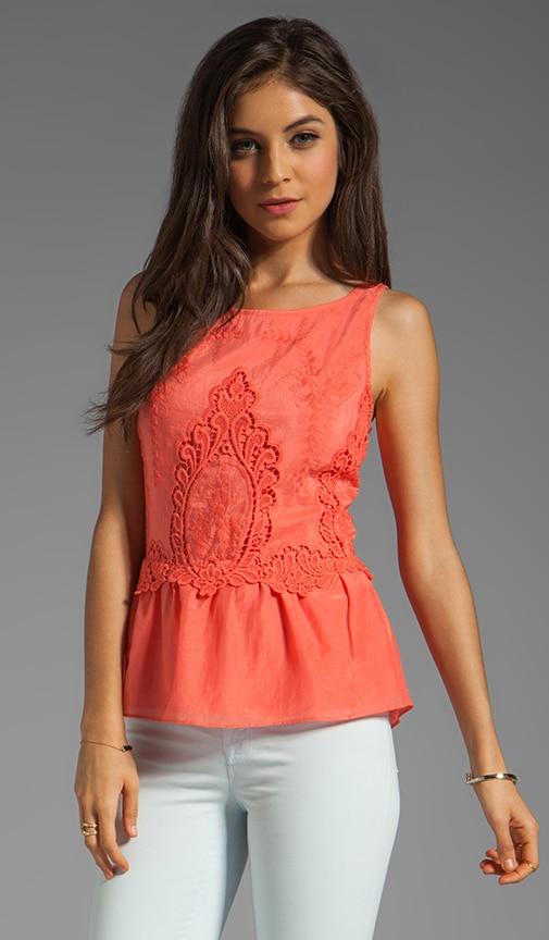 Roxana Petticoat Embroidery Tank