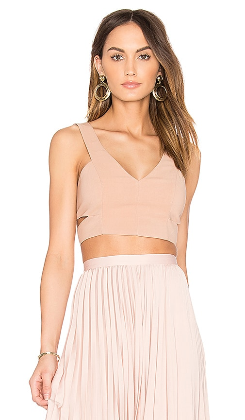 Dolce Vita Lily Bra Top in Blush