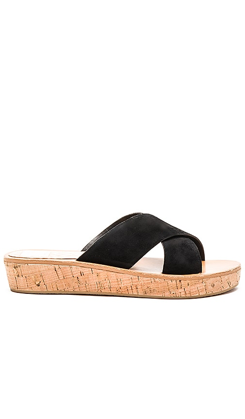 Dolce Vita Monica Sandal in Black