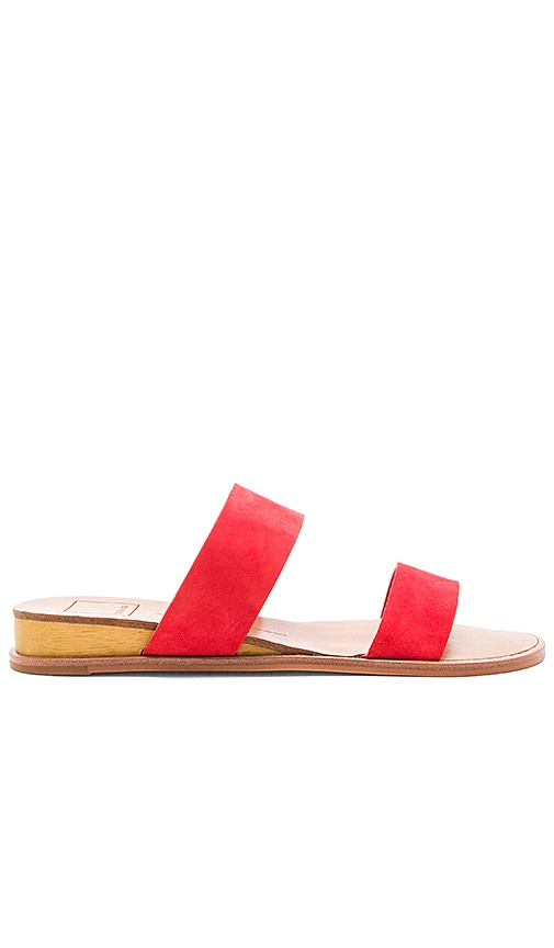 Dolce Vita Payce Sandal in Red