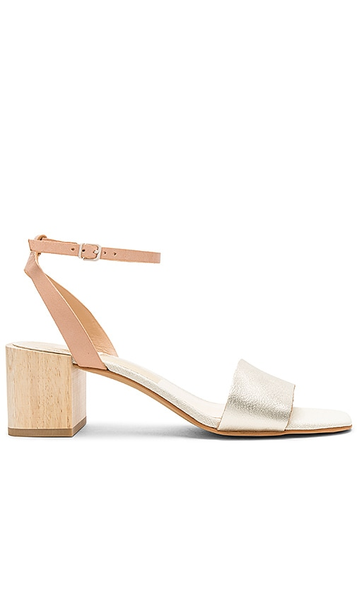 Dolce Vita Zarita Sandal in Metallic Gold