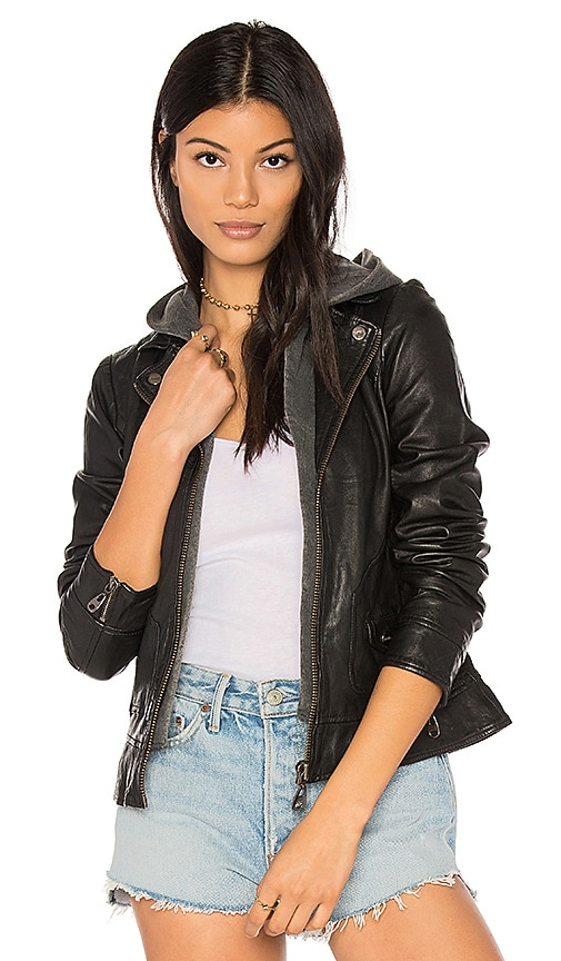 DOMA Clash Jacket in Black