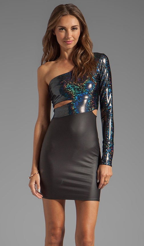 Hologram Classic Cut Out Dress