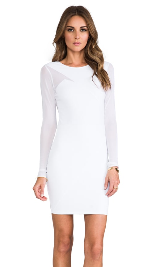 Long Sleeve Splice Dress