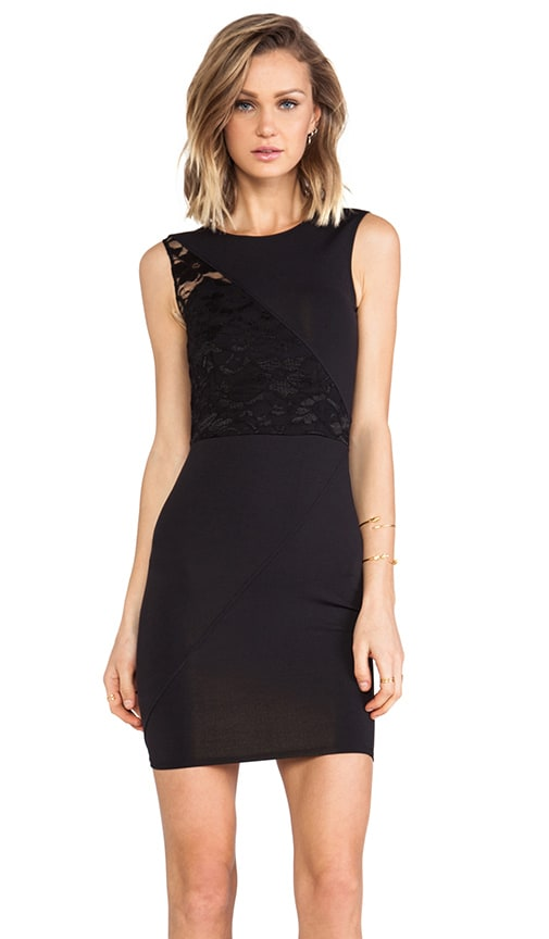 Splice Lace Dress