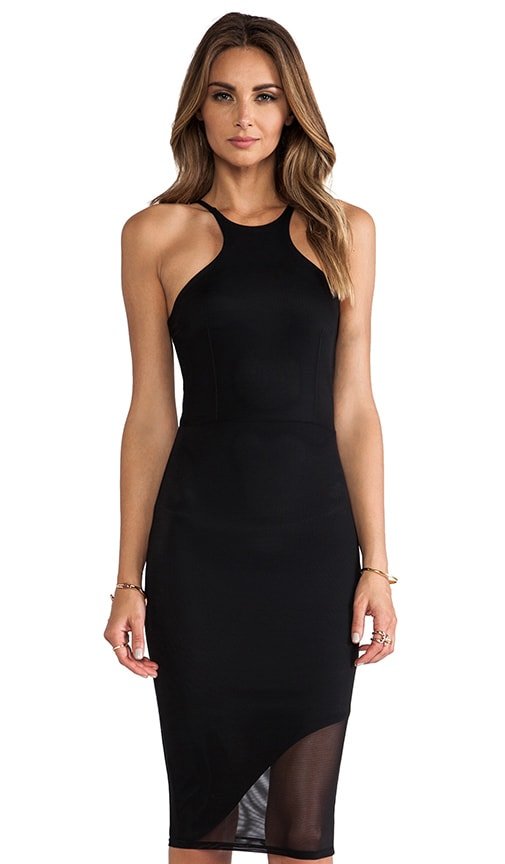 Mid Length Racer Front Dress