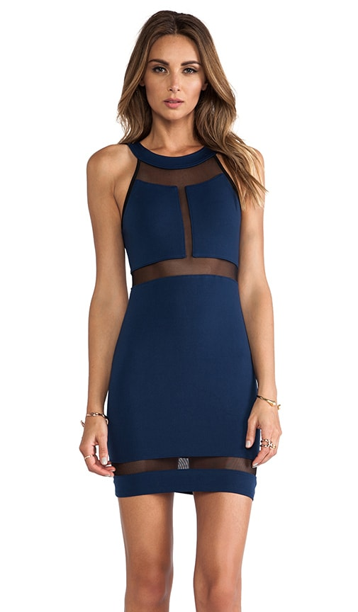 Halter Panel Dress