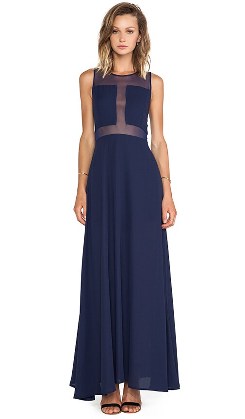 Paneled Gown