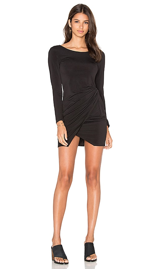 Donna Mizani Knot Dress in Black