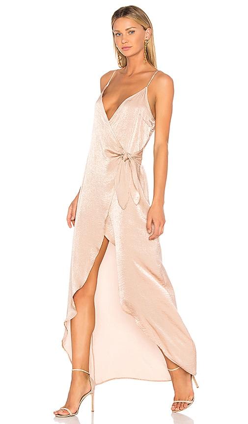 Donna Mizani Aurora Maxi Dress in Blush