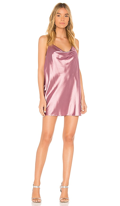 Donna Mizani Effy Mini Dress in Pink