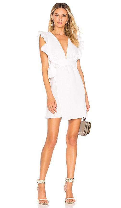 Maya Mini Dress in White. - size M (also in L,S,XS) Donna Mizani