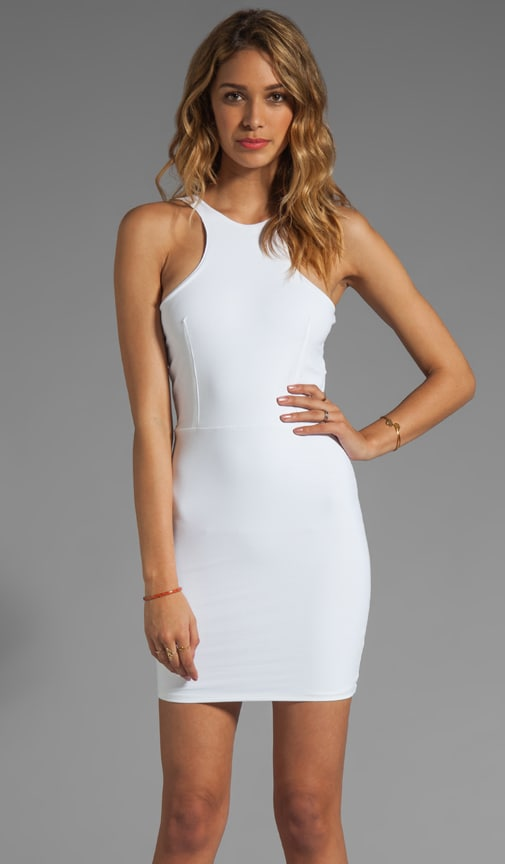 Ultra Soft Back Yoke Cut Out Dress