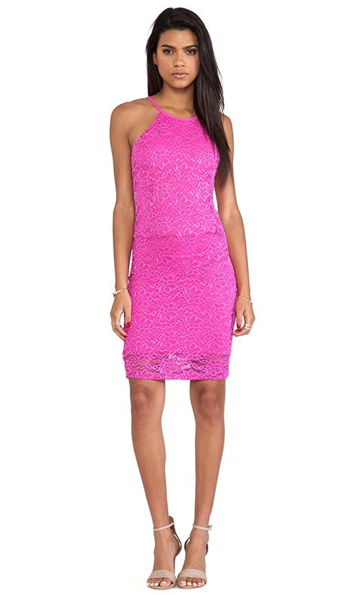 Passion Lace Racer Dress