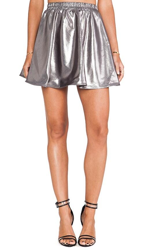 Metallic Circlet Skirt